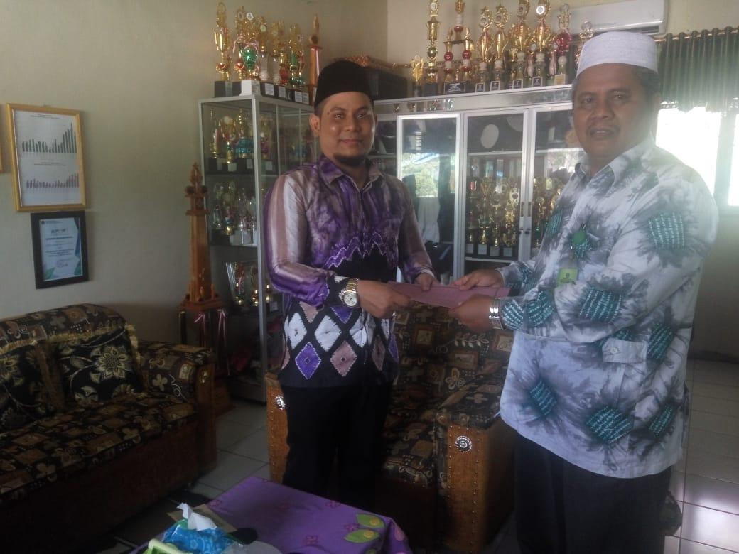 Sosisalisasi dan Penandatanganan MoU antara STIQ Amuntai dengan MAN 4 Hulu Sungai Tengah
